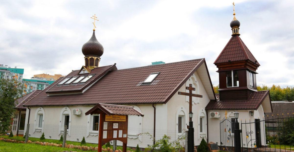 Храм равноапостольного князя Владимира в г. Минске 2016 г.