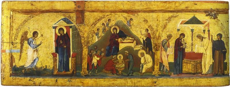 Благовещение-Рождество-Христово-Сретение.-XII-в.-монастырь-святой-Екатерины-Синай