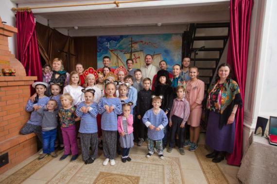 5мая 2019 года внашей воскресной школе прошёл Пасхальный утренник