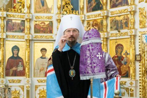 Обращение митрополита Вениамина кверным чадам Белорусской Православной Церкви вКрестопоклонную седмицу